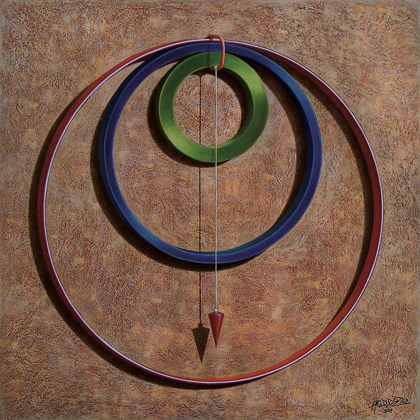 Wire Painting - Gravity One by Horacio Cardozo