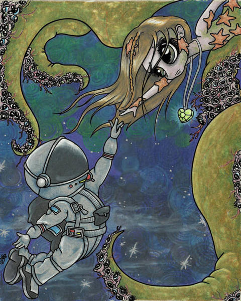 Eyeball Digital Art - Gravity by Shaz Justice