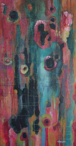 Painting - Gravity Will Not Hold You Back by Laurie Maves ART