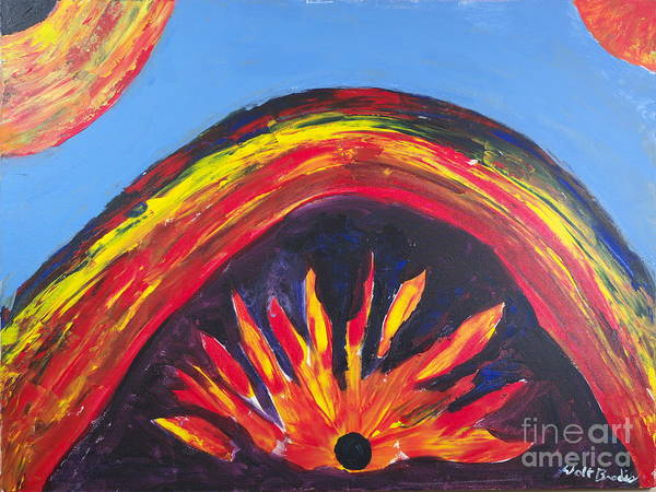 Painting - Gravity's Rainbow by Walt Brodis