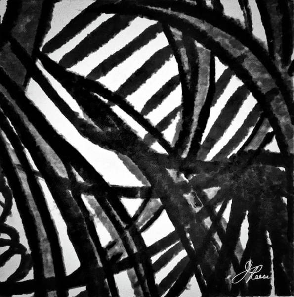 Painting - Gray Lines by Joan Reese