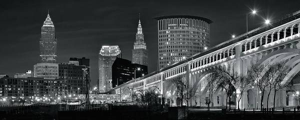Wall Art - Photograph - Gray Pano Of Cle by Frozen in Time Fine Art Photography