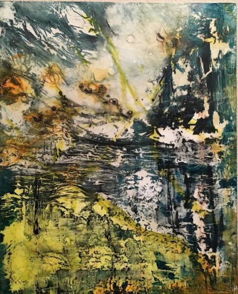 Mixed Media - Summer Storms by Holly Suzanne
