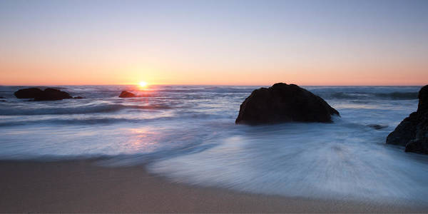 Wall Art - Photograph - Gray Whale Cove State Beach 3 by Catherine Lau