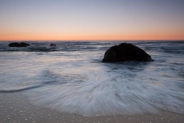 Wall Art - Photograph - Gray Whale Cove State Beach by Catherine Lau