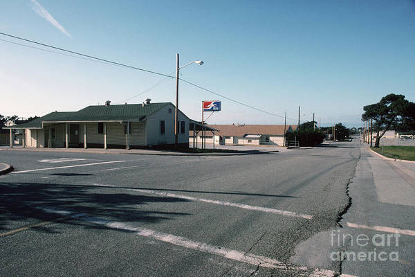 Photograph - Grayhound Bus Depot Fort Ord, 1994 by California Views Archives Mr Pat Hathaway Archives