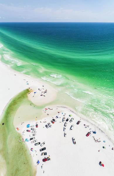 Photograph - Grayton Beach Hang Time by Kurt Lischka
