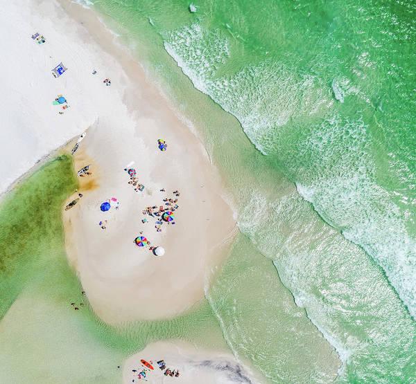 Photograph - Grayton Beach Island Time by Kurt Lischka