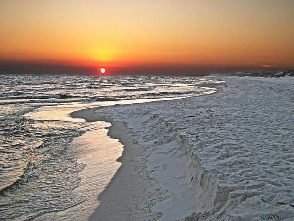 Grayton Beach State Park Photograph - Grayton Beach Sunset by Larry Roby