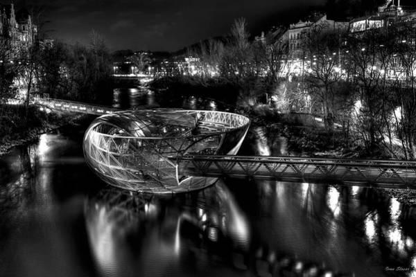 Photograph - Graz Island Bw by Ivan Slosar