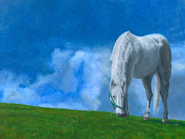 Painting - Grazing by Dominic White