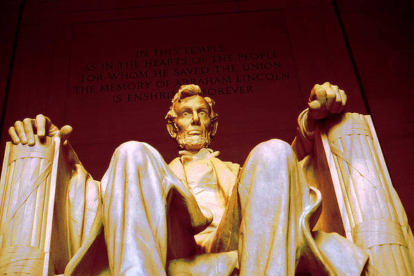 Photograph - Abraham Lincoln Statue Washington D.c. - American President by Peter Potter