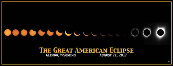 Photograph - Great American Eclipse 2 by John Meader
