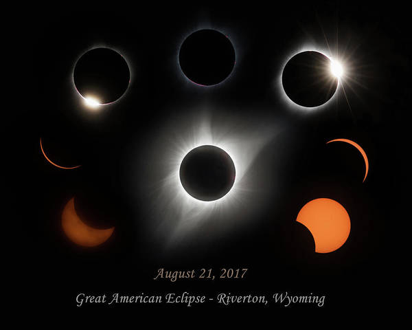 Wall Art - Photograph - Great American Eclipse by Angie Vogel