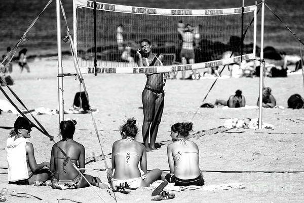Photograph - Great American Volleyball Asbury Park by John Rizzuto