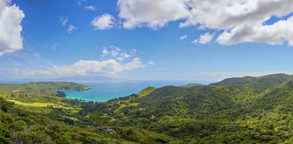 Photograph - Great Barrier Island New Zealand Lookout Point by Joan Carroll