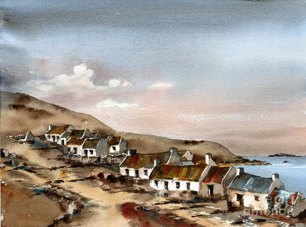 Painting - Great Blasket Island, Kerry...1 by Val Byrne