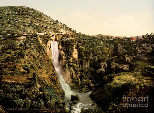 Painting - Great Cascade Tivoli by Celestial Images