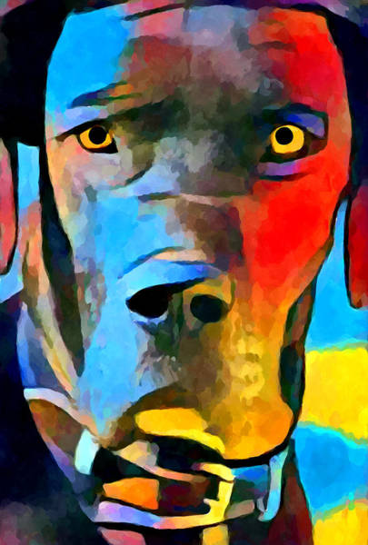 Wall Art - Painting - Great Dane by Chris Butler