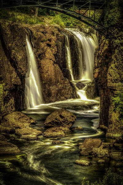 Photograph - Great Falls Close Up by Jorge Perez - BlueBeardImagery