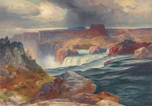 Wall Art - Photograph - Great Falls Of Snake River, Idaho 1876 by Ricky Barnard