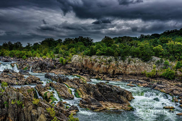 Photograph - Great Falls Of The Potomac by Thomas R Fletcher