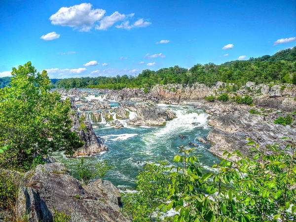 Photograph - Great Falls On The Potomac by Don Mercer