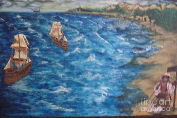 Painting - Great Lakes Pirates by Ronda Douglas