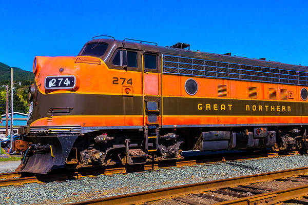 Costal Photograph - Great Northern Train 274 by Garry Gay