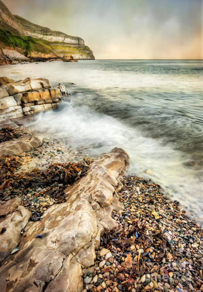 Seaside Digital Art - Great Orme Coast by Adrian Evans