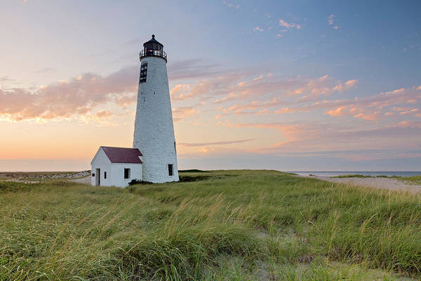 Wall Art - Photograph - Great Point Lighthouse Sunset by Katherine Gendreau