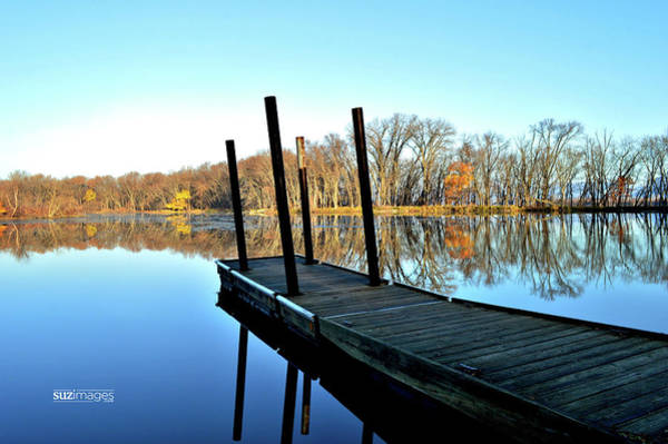 Photograph - Great River Stillness by Susie Loechler