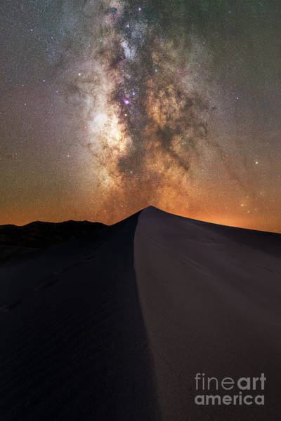 Photograph - Great Sand Dunes Milky Way  by Michael Ver Sprill