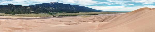 Great Sand Dunes National Park Photograph - Great Sand Dunes National Park Panorama by Shane Linke