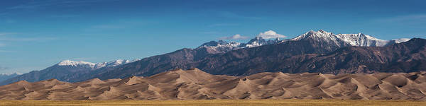 Photograph - Great Sand Dunes Panorama 4to1 by Stephen Holst