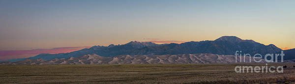 Great Sand Dunes National Park Photograph - Great Sand Dunes Sunrise by Michael Ver Sprill