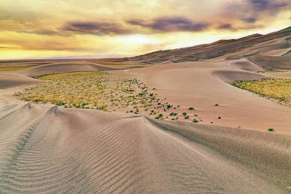 Photograph - Great Sand Dunes Sunset - Colorado - Landscape by Jason Politte