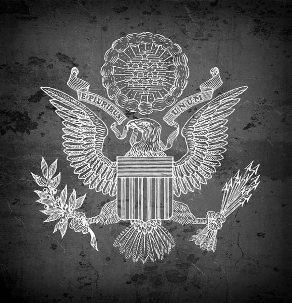 Seal Digital Art - Great Seal Of The United States Of America by Daniel Hagerman