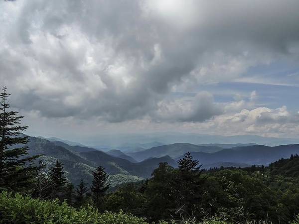 Photograph - Great Smoky Mountain Panorama by NaturesPix