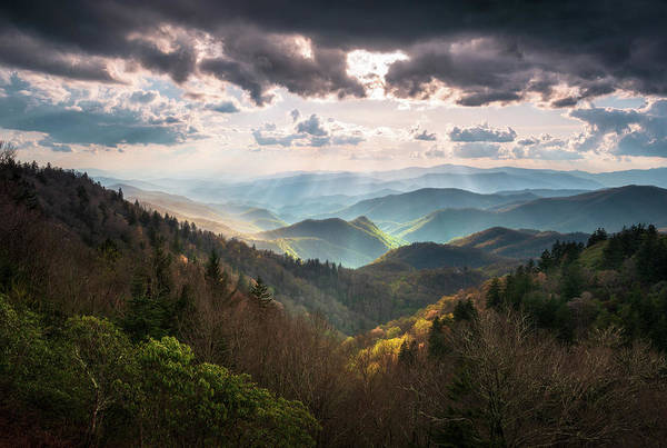 Wall Art - Photograph - Great Smoky Mountains National Park North Carolina Scenic Landscape by Dave Allen