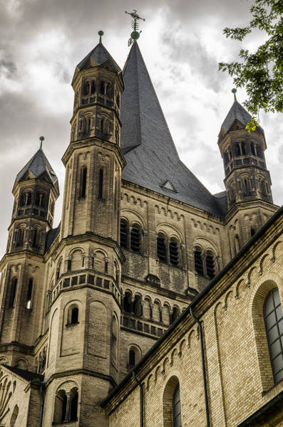 Wall Art - Photograph - Great St. Martin Church In Cologne by Pablo Lopez