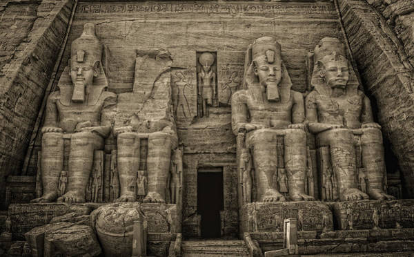 Great Temple Abu Simbel  Art Print