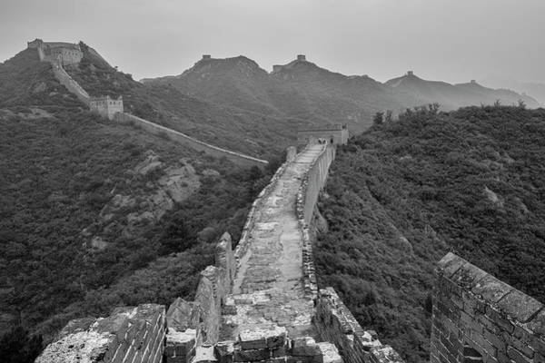 Photograph - Great Wall 6, Jinshanling, 2016 by Hitendra SINKAR
