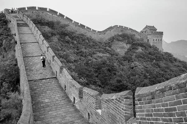 Photograph - Great Wall 9, Jinshanling, 2016 by Hitendra SINKAR