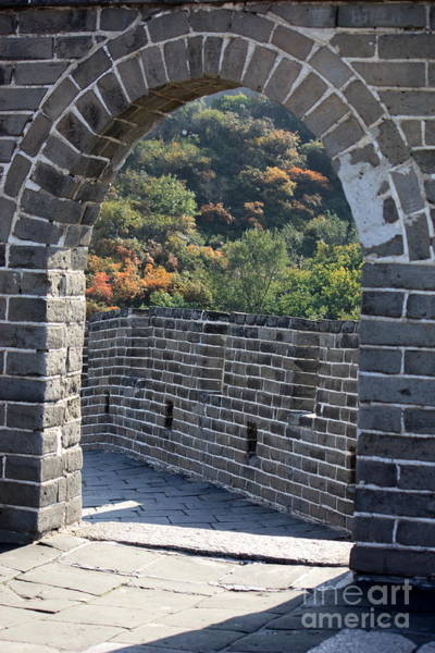 Photograph - Great Wall Archway With Path by Carol Groenen