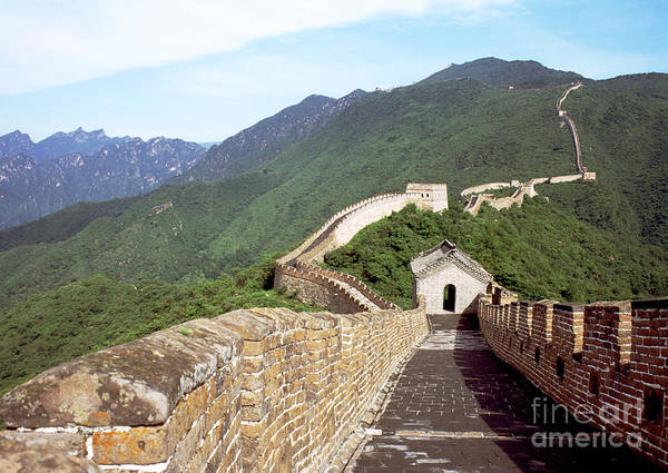Expanse Photograph - Great Wall by Bill Bachmann - Printscapes