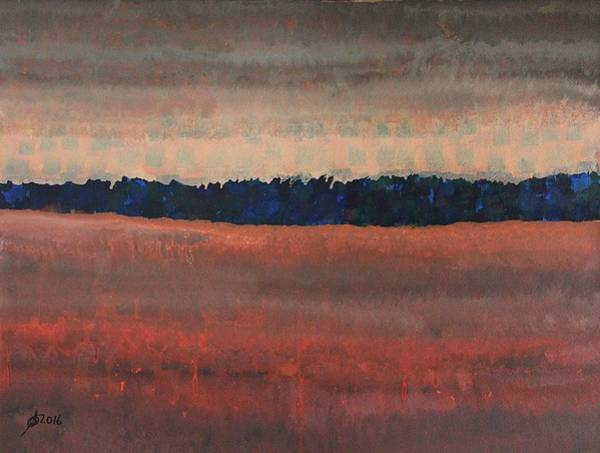 Painting - Great Wall Of The West Original Painting Sold by Sol Luckman