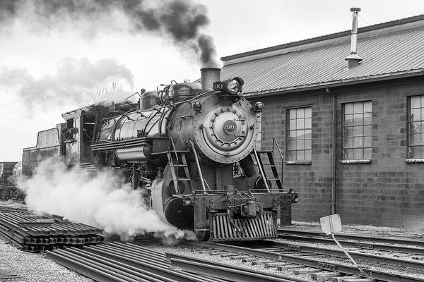 Wall Art - Photograph - Great Western 90 Boiler Blow Down 2 by Jeff Abrahamson