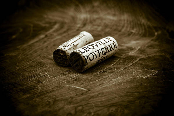 Wall Art - Photograph - Great Wines Of Bordeaux - Chateau Leoville Poyferre by Frank Tschakert