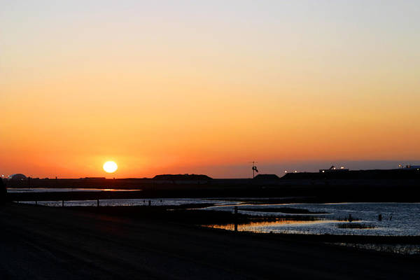 Greater Prudhoe Bay Sunrise Art Print